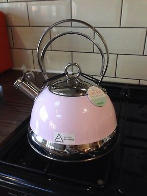 Pink Stove Top Kettle (Dunelm Mill)