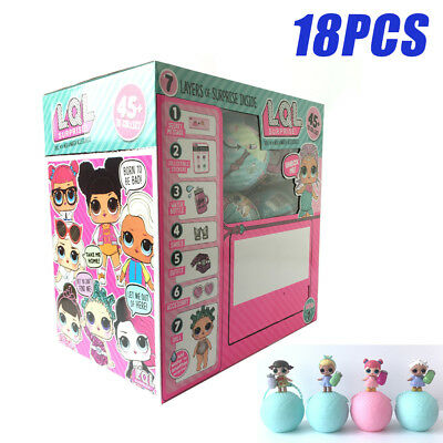 18PCS with Box LOL Surprise Mystery Ball Lil Series1 Doll Toy 2017 NEW Xmas Gift