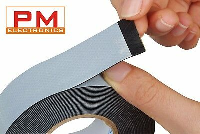 Self Amalgamating Tape 19mm x 10m x 0.8mm Self Fusing Rubber Tape Various packs