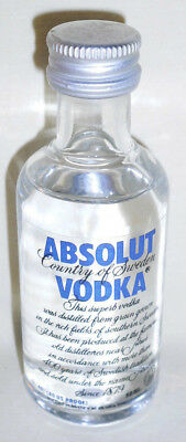 VODKA MINIATURE - ABSOLUT - 50 ml - SWEDEN