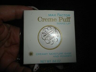Vintage Max Factor Creme Puff Make-up Roman Touch