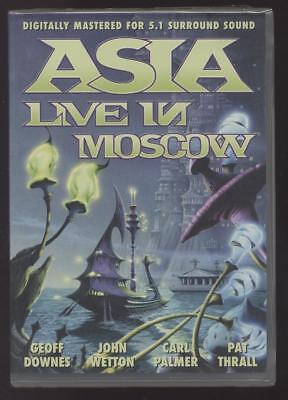NEUF DVD ASIA LIVE IN MOSCOW SOUS BLISTER ROCK PROGRESSIF Downes JOHN WETTON