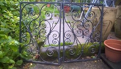 small metal decorative gates.