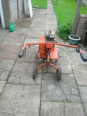 Wolseley Merry Tiller  Rotovator  With 4 Hp Petrol Engine & Spare Tynes.