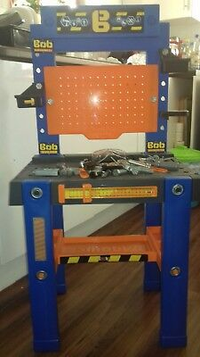Bob the builder work bench with some tools