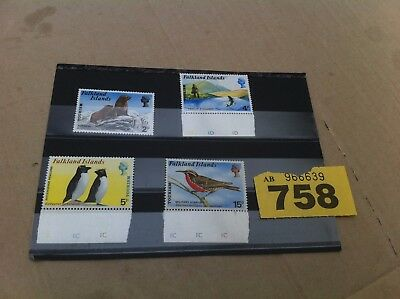Falkland Islands 1974 Tourism stamps set to military starling unmounted mint 758