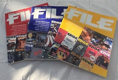 Edge Magazine Presents File volumes 1, 2 & 3 - Collector's Edition - Rare!!