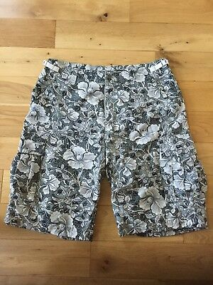 Paul Smith Men's Beach Shorts Floral Print Size Large