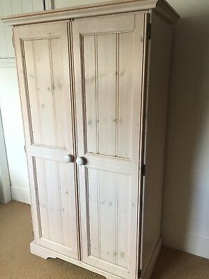 Aspace Antique White Childs Wardrobe in good condition