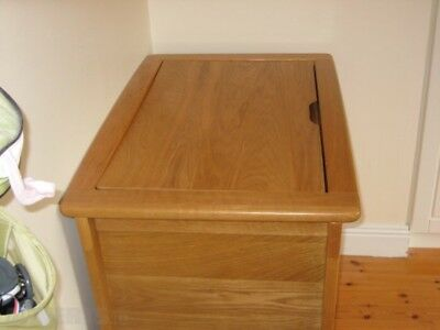 Mamas And Papas Solid Oak Cot Bed And Drawer Set/changer(Ocean Range)