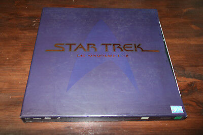Star Trek Laserdisc Box 1-3 Widescreen Pioneer PAL Deutsch Top & Rar