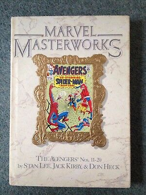 Marvel Masterworks  Vol 9 The avengers graphic novel hardback