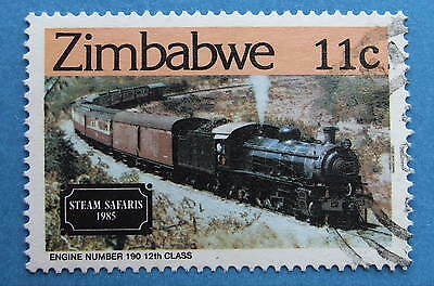ZIMBABWE 1985 STEAM LOCOMOTIVE 11cents   SG654   FU NEVER HINGED