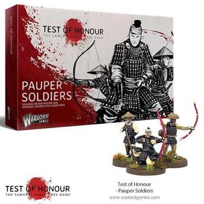 Pauper Soldiers *Test Of Honour - Samurai Miniatures Game* Warlord Games