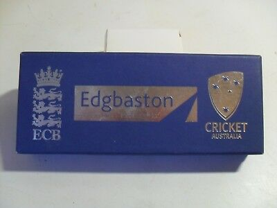 Edgbaston cricket bat corkscrew (EXPERIENCE EXCELLENCE) Ashes memento, boxed