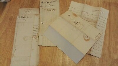 Bundle Of Letters From 1805-07, Love Story Like Bronte, Dickens Or Austin Novel