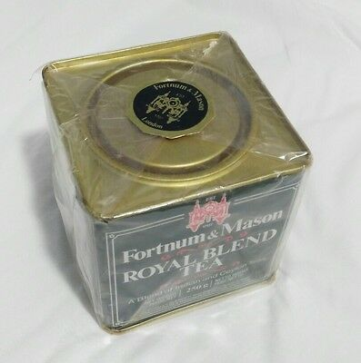 Antigua caja de te Fortum & Mason - Royal Blend Tea - 1988 - envase original
