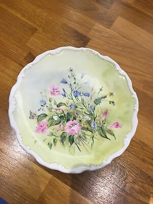 Royal Albert Plate, Part Of Shakespeare's Flowers Collection 'Glorious Morning'