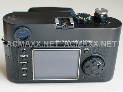"ACMAXX 2.5"" HARD LCD SCREEN ARMOR PROTECTOR for LEICA M8 M8.2 6-BIT M M82 body"