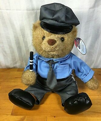 "POLICE Teddy Bear  - Sings ""Bad Boys"" from Cops Animated 12"""
