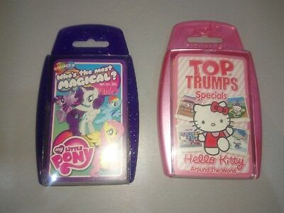 Girls top trumps. my little pony & hello kitty