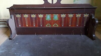 Antique marble top wash stand top
