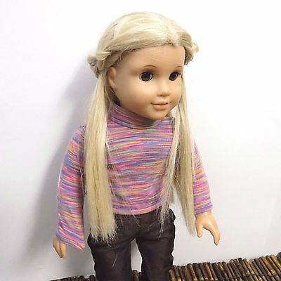 """American Girl Doll Julie Albright Small Tag w/ Outfit Historical Retired 18"""""""