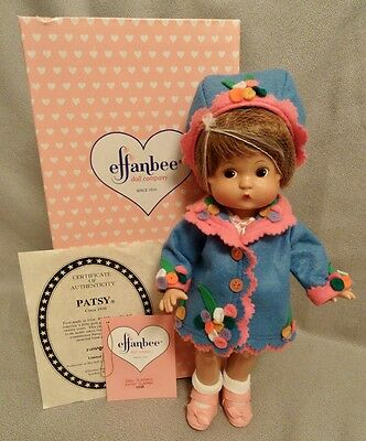 Patsy Flapper Effanbee 1997 Doll - Completely Restrung - Mint