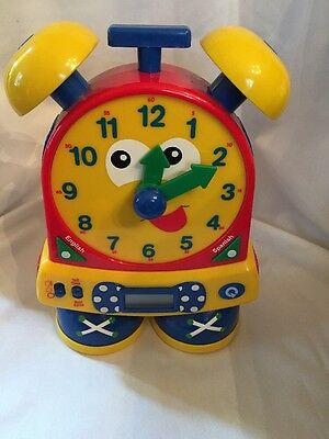 Learning Journey Telly The Teaching Time Clock Tell Time Quiz Kids Learn School