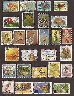 PAPUA NEW GUINEA - Collection of 27 Fine Used Stamps - (JB871)