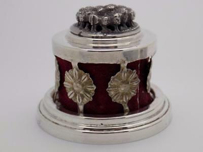 Vintage Sterling Silver 925 Ferrara Brand Potpourri Box, Stamped, Made in Italy