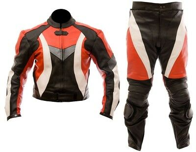 SPORTS Motorbike/Motorcycle Leather Jacket,Pant/Suit Racing-CE ARMORED-MotoGp