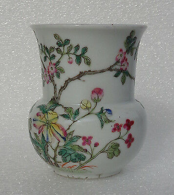 CINA (China): Old and very fine Chinese porcelain spittoon