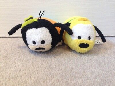 Goofy and Pluto Tsum Tsums