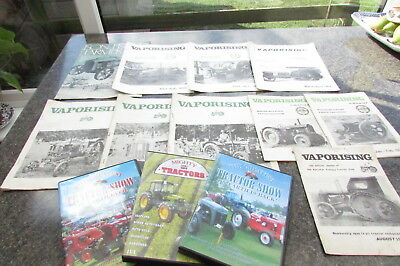 Vintage tractors Vaporising magazine barn find tractor dvd farming agriculture