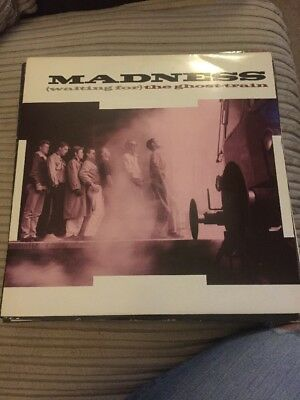 """Madness - (Waiting For) The Ghost Train 12"""" Single"""