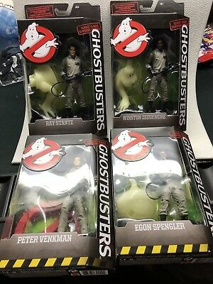 Ghostbusters Classic Action Figure Set of 4 - Peter Ray Egon Winston by Mattel