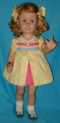 AO! Vintage 1960s CHATTY CATHY Doll with Strawberry Blonde Hair
