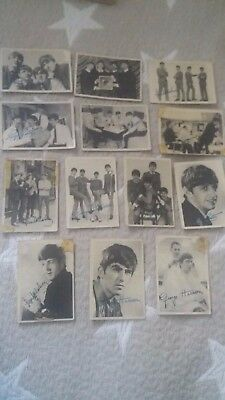 Beatles x Chewing gum cards
