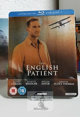 The English Patient - Limited exclusive Blu ray Steelbook Edition new&sealed