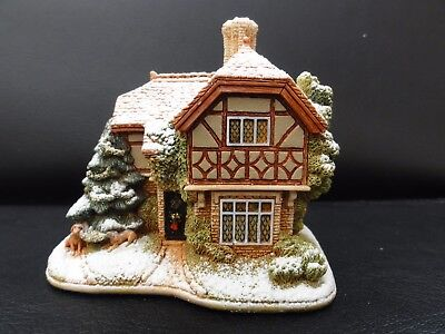 Lilliput Lane Cottage. Bark! The Herald Angels Sing. New in Box.