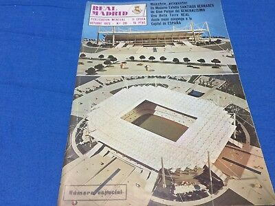 1973 UEFA cup.Ipswich Town,1-Real Madrid,0. programme, official magazine