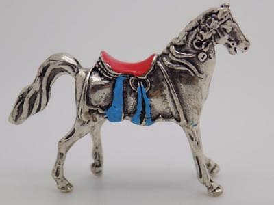 Vintage Solid Silver Italian Made Horse Miniature, Figurine, Stamped