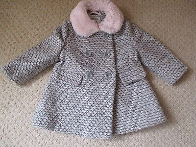GIRLS COAT 12 - 18 MONTHS by NEXT