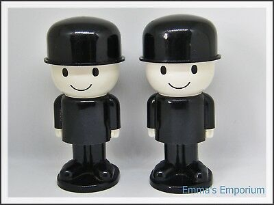 Vintage Collectable 1970s HOMEPRIDE Fred the Flour Grader Plastic Egg Cups x 2