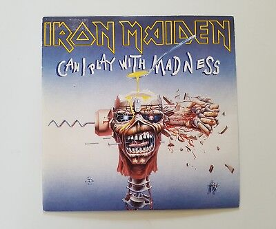 """Iron Maiden  can a play...... 7"""" Spain"""