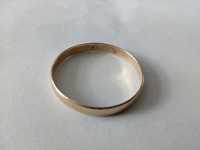 14 ct YELLOW GOLD RING SALES AS A SCRAP 1.21 GRAMS