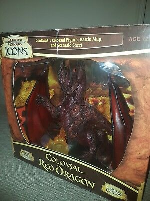 Dungeons and dragons icons Colossal Red Dragon