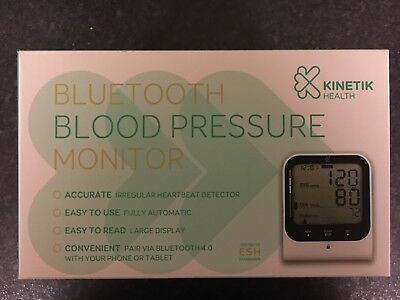 Bluetooth Blood Pressure Monitor (Kinetik Health) RRP £59.99