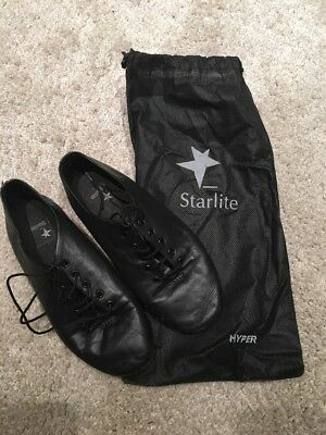 Black Starlight Ballet Jazz Dance Shoes Size 2
